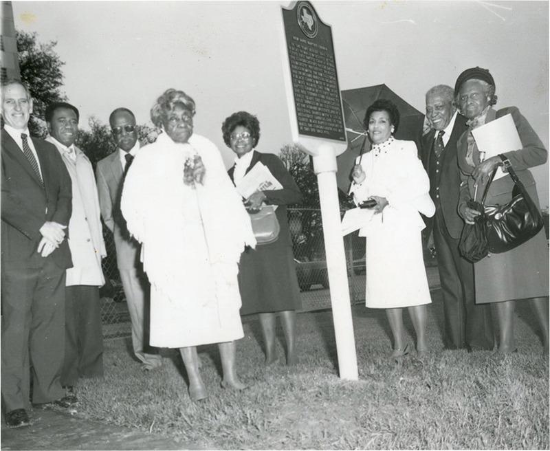 Dedication Ceremony for Historical Marker