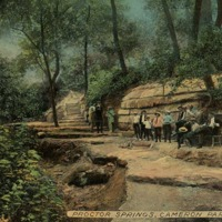 Proctor Springs Souvenir Postcard