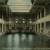 Natatorium Postcard (1910)